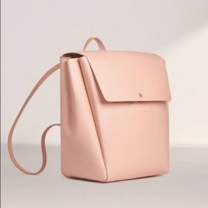 Aritzia Auxiliary De Bray Backpack Leather